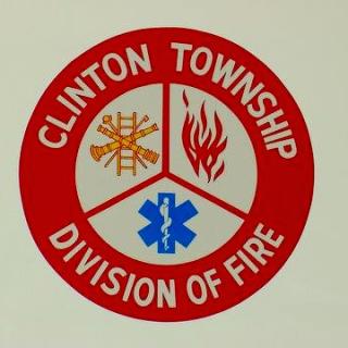 Clinton Township Division of Fire Logo